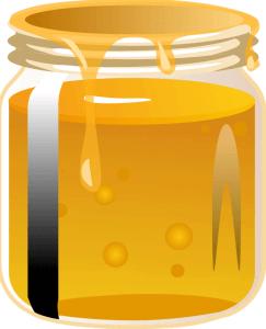 Honig als Hausmittel gegen trockene Lippen