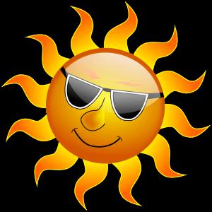 Warme Sonnenstrahlen können Ursache für trockene Lippen sein