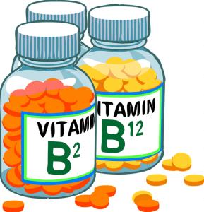 Vitamin B2 und B12